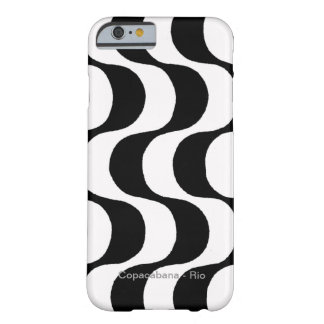 black and white copacabana, RJ Barely There iPhone 6 Case