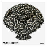 Black and White Coral II Abstract Nature Photo Wall Sticker
