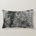 Black and White Coral Pillow