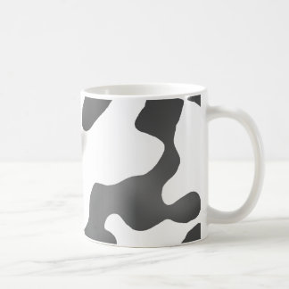 Black And White Country Cow Pattern Coffee Mug