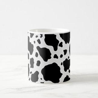 Black and White Cow Animal Pattern Print Coffee Mug