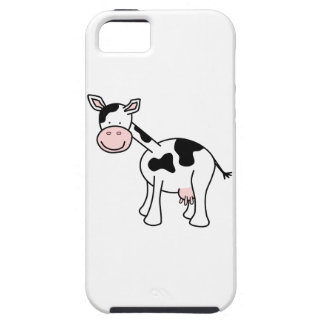 Black and White Cow Cartoon. iPhone SE/5/5s Case