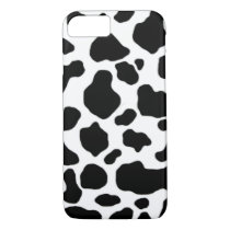 black and white cow pattern iPhone 8/7 case