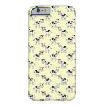Black and White Cow Pattern on Light Yellow iPhone 6 Case