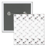 Black and White Cow Pattern. Pins