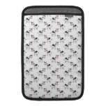 Black and White Cow Pattern. Sleeves For MacBook Air