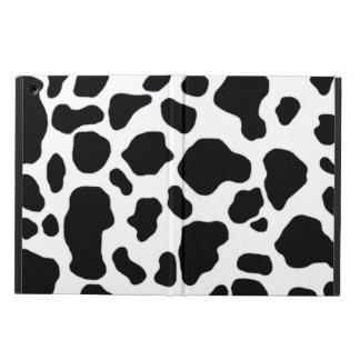 Black and white cow print iPad Air Case