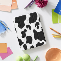Black and White Cow print iPad Smart Cover