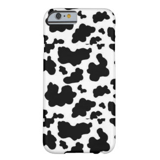 Black and White Cow Print Iphone 6 Phone Case Barely There iPhone 6 Case