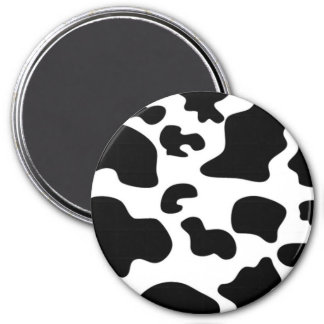 Black and White Cow print Magnet