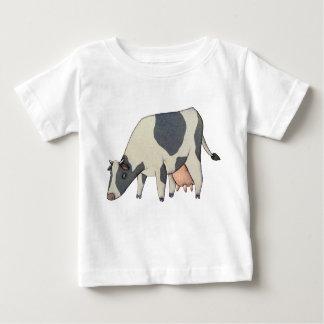 Black and White Cow Tee Shirt