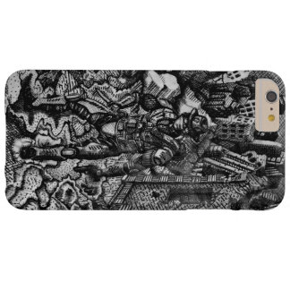 Black and white cowboy apple iphone 6 plus case