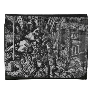 Black and white cowboy Wallet