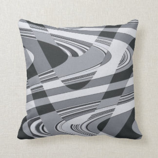 Black and White Curves Pillows