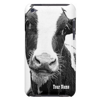 Black and White Dairy Cow Case-Mate iPod Touch Case