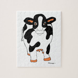 Black and White Dairy Cow Puzzle