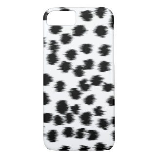 Black and White Dalmatian Pattern. iPhone 7 Case