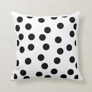 black_and_white_dalmatian_spot_pattern.png throw pillow