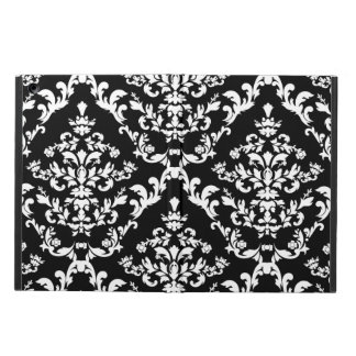 Black and White Damask iPad Air Cases
