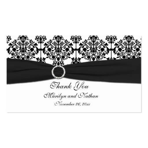 black and white wedding cards