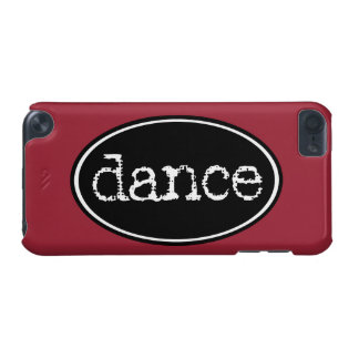 Black and White Dance Oval iPod Touch (5th Generation) Case