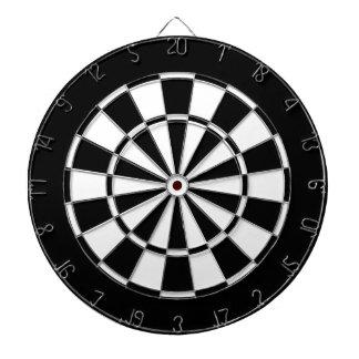 black and white dartboards