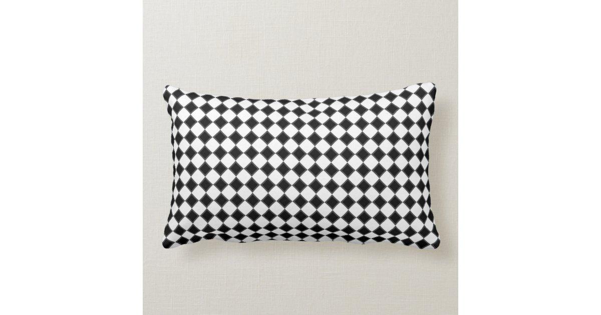 Black And White Decorative Throw Pillows : Black and White Decorative Pillow Zazzle