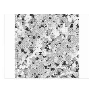 Black and White Design by Chillax Postcard