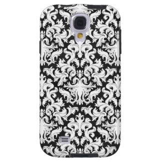 BLACK AND WHITE DESIGN GALAXY S4 CASE
