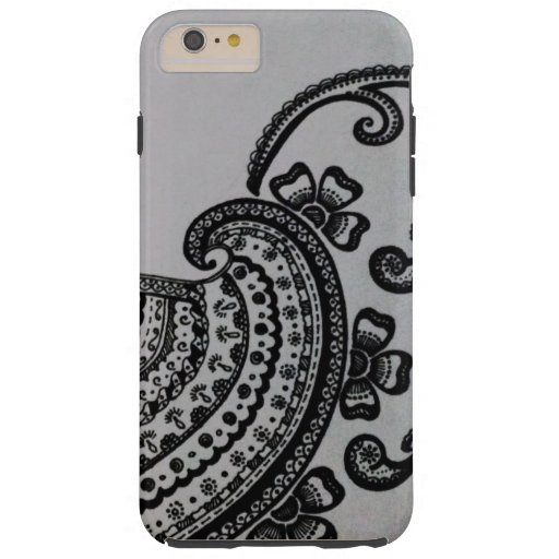 Black and White Design Case for iPhone 6/6s Plus