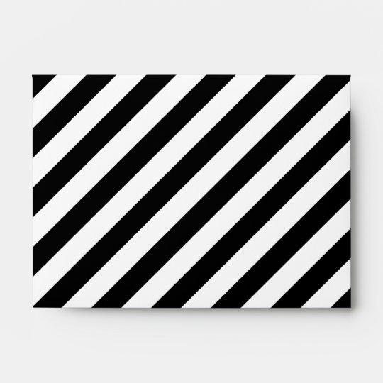 stripes diagonal envelope envelopes zazzle