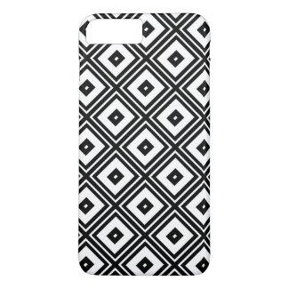 Black and White Diamond Squares iPhone 7 Plus Case