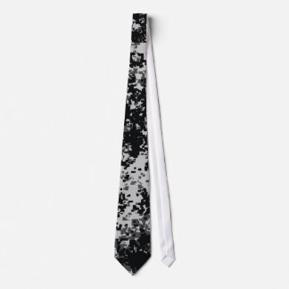 Black and White Digital Military Camo ties