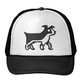 Black and white Dog Hats