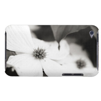 Black and White Dogwood Flower iPod Touch Cover