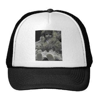 Black and White Doll Hat