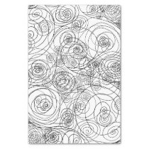 Black and White Doodle Art Tissue Paper