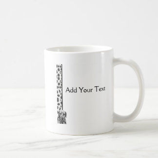 Black and White Dotty Dalmatian Coffee Mug