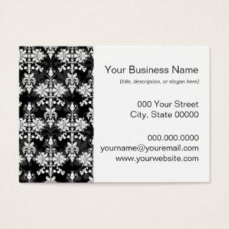 Zazzle damask business cards best business cards black and white damask wallpaper business cards templates zazzle reheart Choice Image