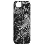 Black and White Dragon iPhone 5 Case