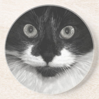 Black and White Drink Coaster