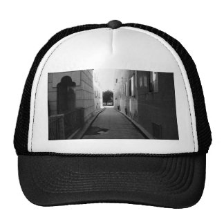 Black And White Driveway Trucker Hat