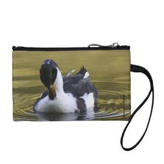 Black and White Duck Coin Purse