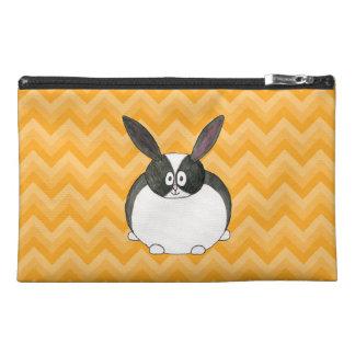 Black and White Dutch Rabbit. Travel Accessories Bag