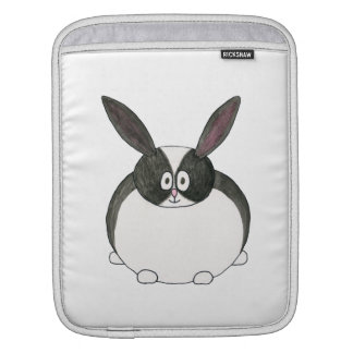 Black and White Dutch Rabbit. Sleeve For iPads