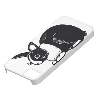 Black and White Dutch Rabbit iPhone 5/5s Case