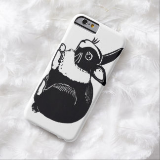 Black and White Dutch Rabbit iPhone 6 Case