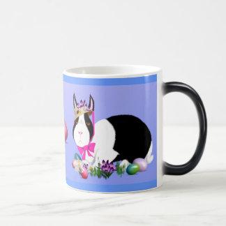 Black and White Easter Bunny Mug