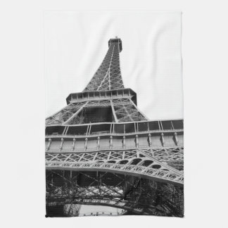 Black and White Eiffel Tower Kitchen Towels
