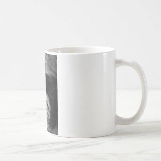 Black and White English Bulldog Puppy Coffee Mug